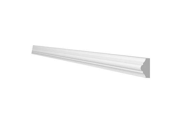 Moldura de Parede em Poliuretano Sp3n 1x23x200cm Branco - Gart