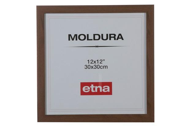 Moldura em Mdf Toldo 30x30cm Imbuia - Casa Etna
