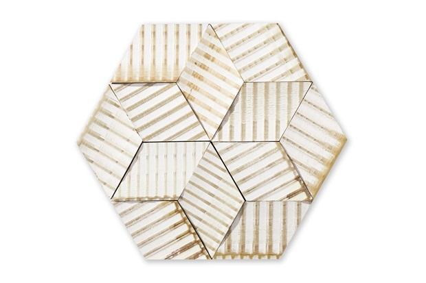 Mosaico Acetinado Bardot Tropezienne 25x22cm com 1 Peça - Portobello