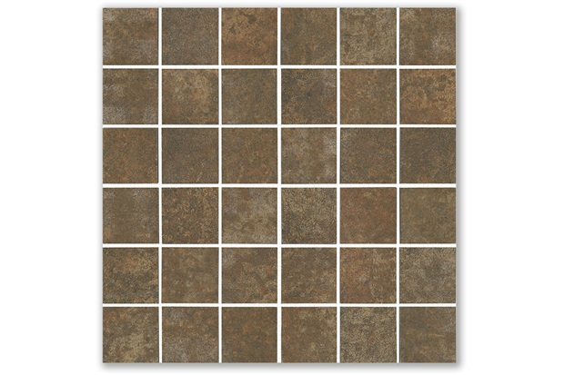 Mosaico Acetinado Oxi Ruddy 33x33cm - Incepa