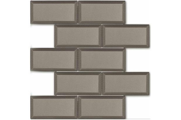 Mosaico Esmaltado Prosa Cinza 29,8x29,8cm - Portinari