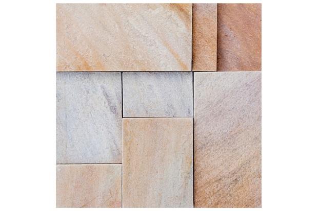 Mosaico Pedra Natural São Tomé Mp 4060 Amarelo 30x30cm - Casanova