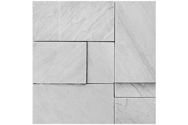 Mosaico Pedra Natural São Tomé Mp 4080 Branco 30x30cm - Casanova