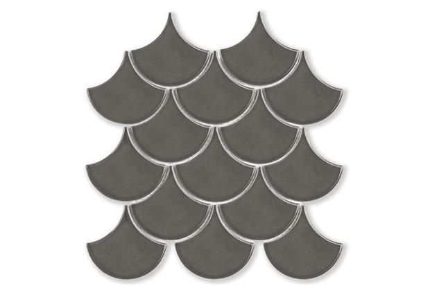 Mosaico Ritmos Dgr Cinza Escuro 25,9x27,3cm - Portinari