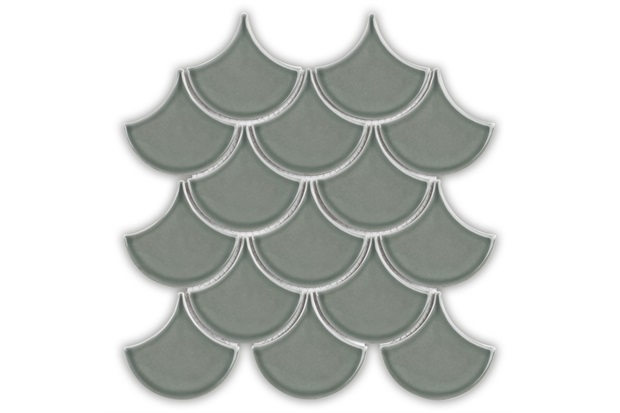 Mosaico Ritmos Sgn Cinza Claro 25,9x27,3cm - Portinari