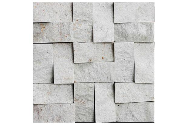 Mosaico S.Tome R.Bco Ms 23 30x30vdecor - Villas Deccor