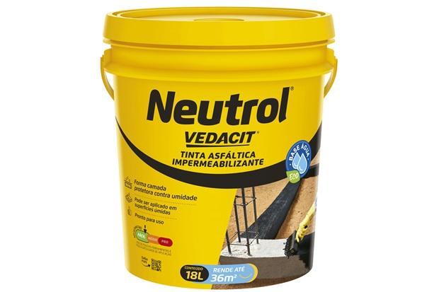Neutrol Base Água Balde 18 Litros - Vedacit