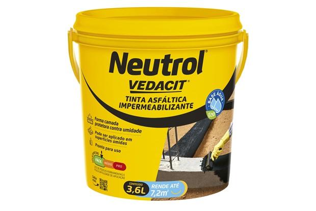 Neutrolin 3,6 Litros - Vedacit