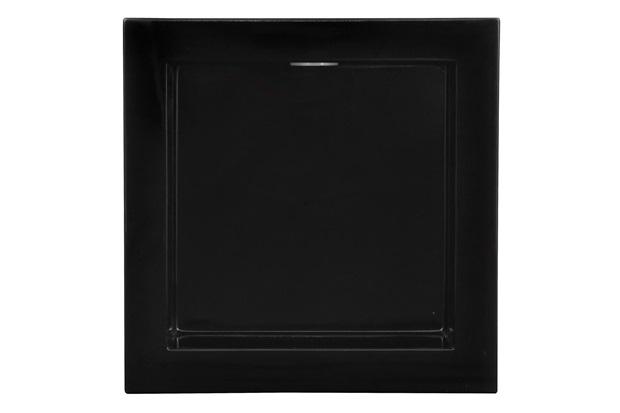 Nicho para Banheiro com Led 30x30cm Preto - Líder Gabinetes