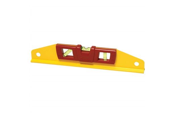 Nível em Alumínio com Base Magnética Trapezoidal 12'' Amarelo E Vermelho - Starrett