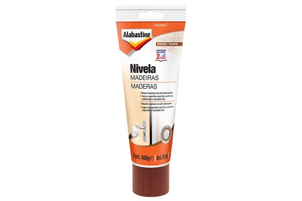 Nivela Madeiras 400g Branco - Alabastine