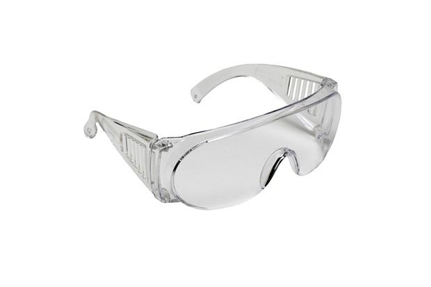 Óculos de Proteção Profissional Pro Vision Incolor - Carbografite