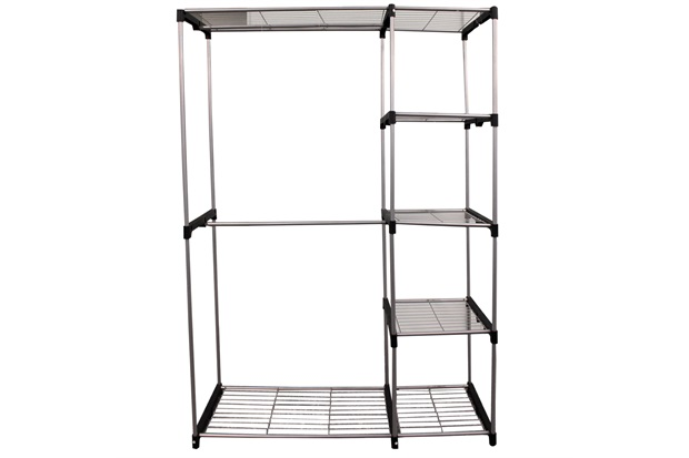 Organizador de Closet em Metal com Prateleiras 174x120cm - Casanova