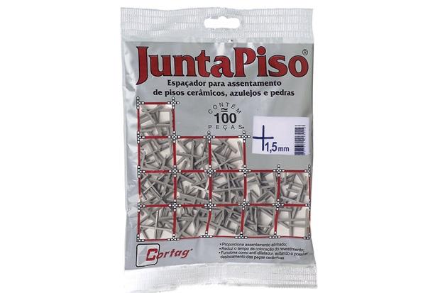 Pacote Espaçador Juntapiso 1,5mm Plástico - Cortag