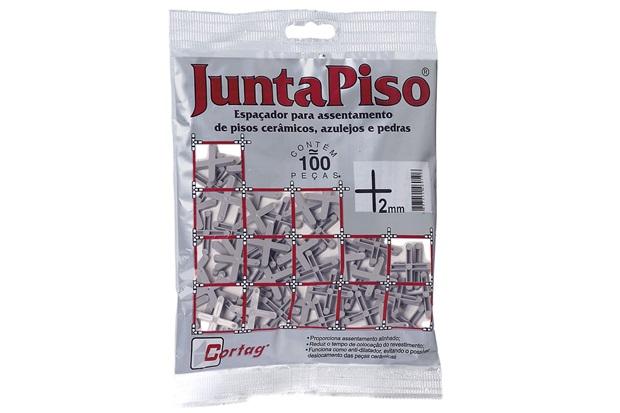 Pacote Espaçador Juntapiso 2,00mm Plástico - Cortag