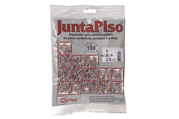 Pacote Espaçador Juntapiso 5,0mm Plástico - Cortag