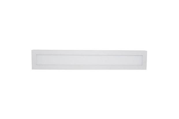 Painel de Sobrepor Fit 18w Bivolt 10x60cm Branco 4000k Luz Branca - Avant