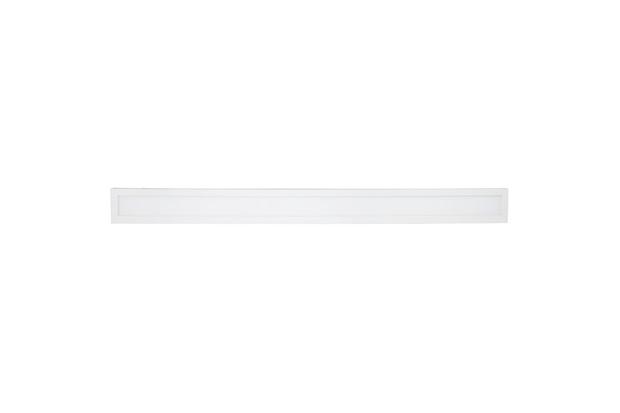 Painel de Sobrepor Fit 36w Bivolt 10x120cm Branco 4000k Luz Branca - Avant