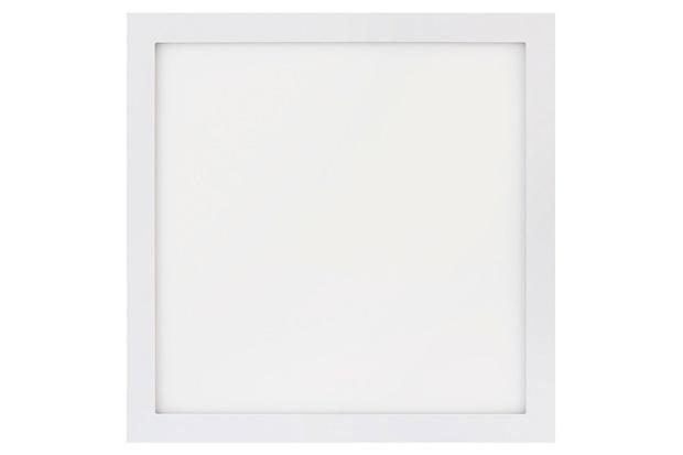 Painel Led Quadrado de Sobrepor 32w Bivolt 40cm Branco 6500k Luz Branca - Brilia