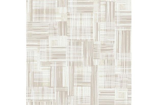 Papel de Parede Decor Moderno Texturizado Bege E Areia 0.53x10m - Colorful