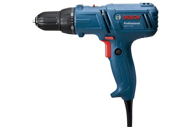 Parafusadeira E Furadeira 400w 110v Gsr 7-14 E Professional Azul E Preta - Bosch