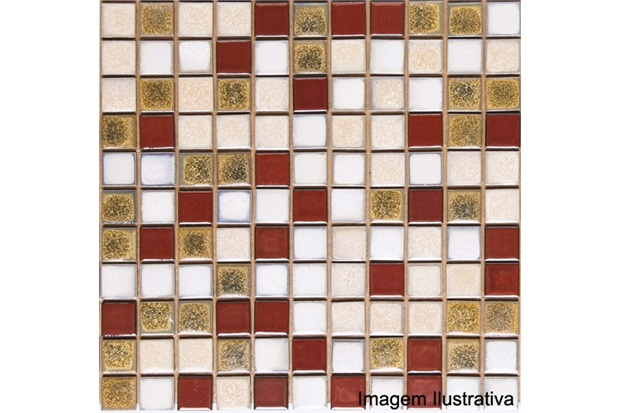 Pastilha em Porcelanato Esmaltada Pl8470 Mediterrâneo 30,3x30,3cm - Jatobá