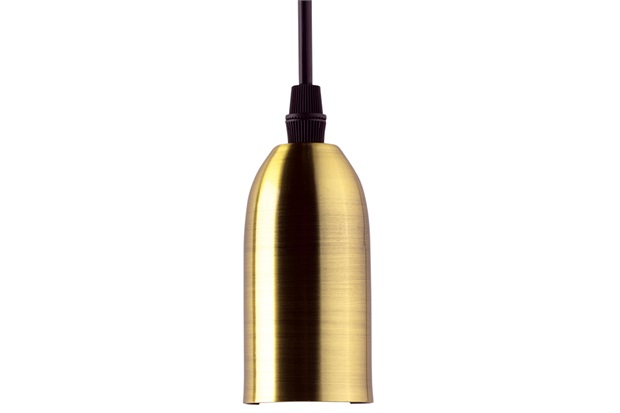 Pendente Dot Metal Vintage 95x48mm Dourado - Taschibra