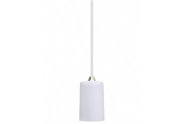 Pendente em Alumínio para 1 Lâmpada Dot Metal Branco - Taschibra