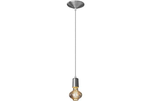 Pendente em Alumínio para 1 Lâmpada Orbital Prata - Nacional Iluminação