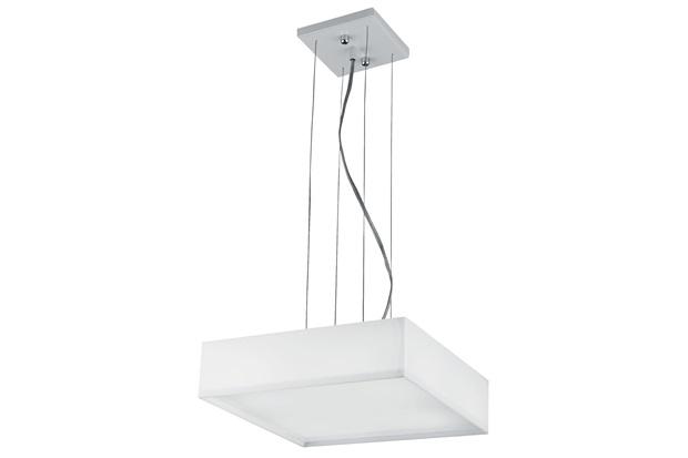 Pendente Led White 30x30cm  - Bronzearte