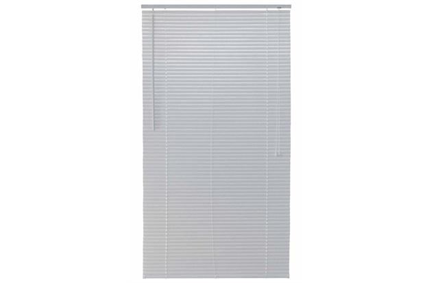 Persiana Horizontal em Pvc Block 140x160cm Branca - Top Flex