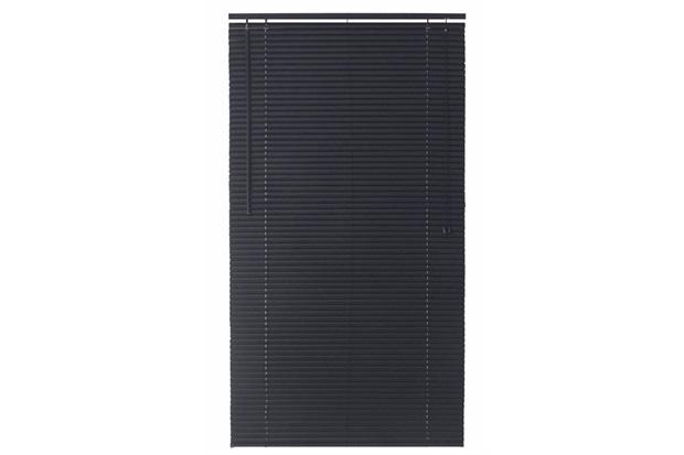 Persiana Horizontal Pvc Block Preto 130x140cm - Top Flex