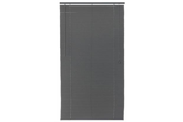 Persiana Horizontal Pvc Cinza 80x160cm - Top Flex