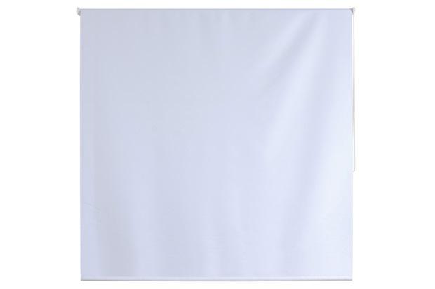 Persiana Rolo Blackout em Poliéster Nouvel 160x220cm Branca - Evolux