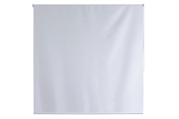 Persiana Rolô em Poliéster Blackout Nouvel 160x140cm Branca - Evolux