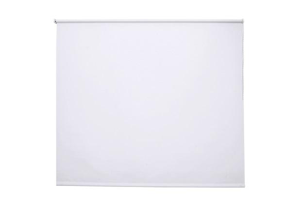 Persiana Rolô em Poliéster Toucher 140x100cm Branca - Evolux