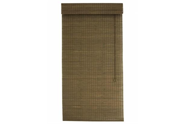 Persiana Romana Bambu Tabaco 120x220cm - Top Flex