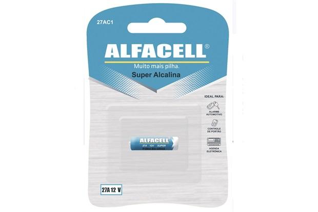Pilha Alcalina 12v com 1 Unidade - Alfacell