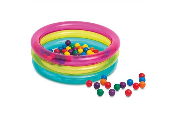 Piscina de Bolinhas Multi Color - Intex