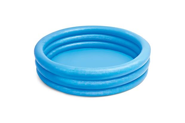 Piscina Inflável 3 Anéis 330 Litros Azul - Intex