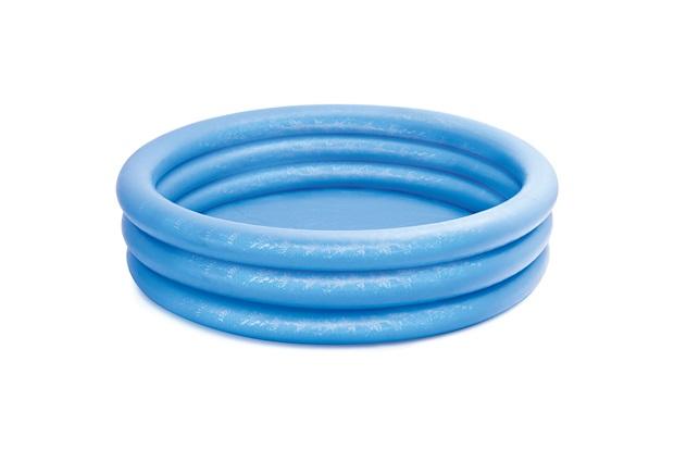 Piscina Inflável 3 Anéis 581 Litros Azul - Intex