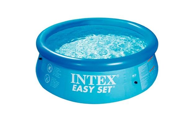 Piscina Inflável em Pvc Easy Set 2.419 Litros - Intex