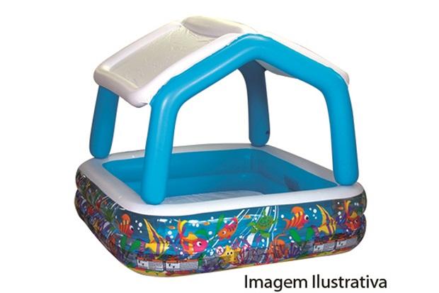 Piscina Lazer com Cobertura 280 Litros 57470 - Intex