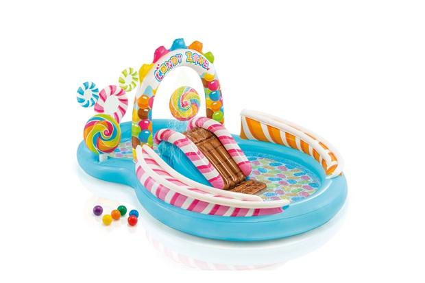 Piscina Playground Inflável Candy Zone 206 Litros Azul - Intex