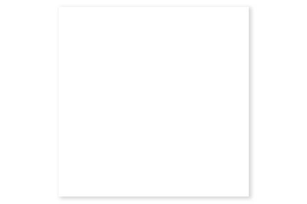 Piso Cerâmico Brilhante Borda Bold Branco 45x45cm - Formigres