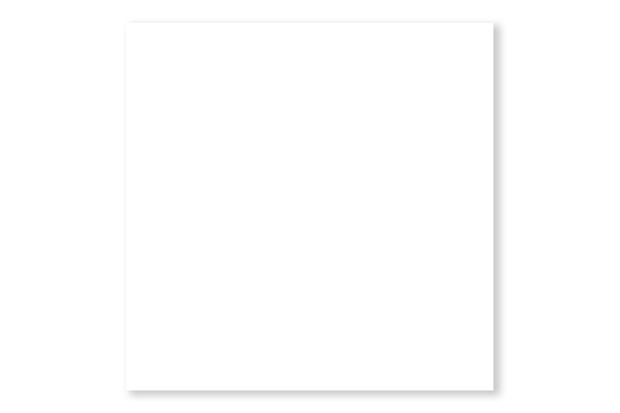 Piso Cerâmico Brilhante Borda Bold Branco 50x50cm - Formigres