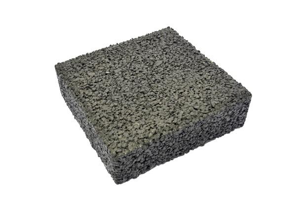 Piso Cimentício Drenante 20x20cm Natural - Oterprem