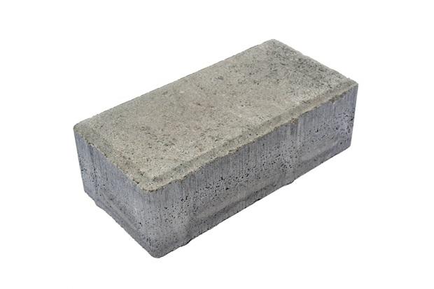 Piso Cimentício Retangular 10x20cm Natural - Oterprem