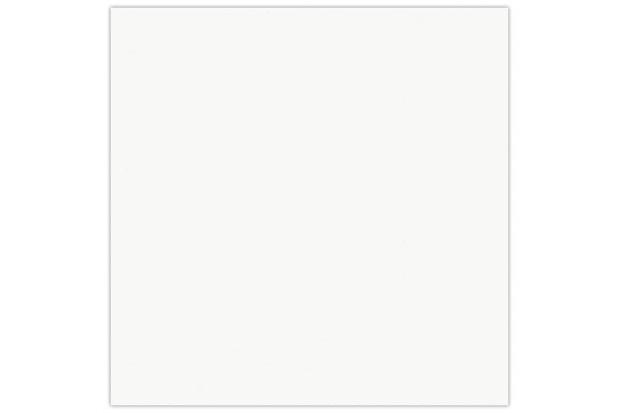Piso Esmaltado Acetinado Borda Bold Técnica Titanium Branco 35x35cm - Incefra