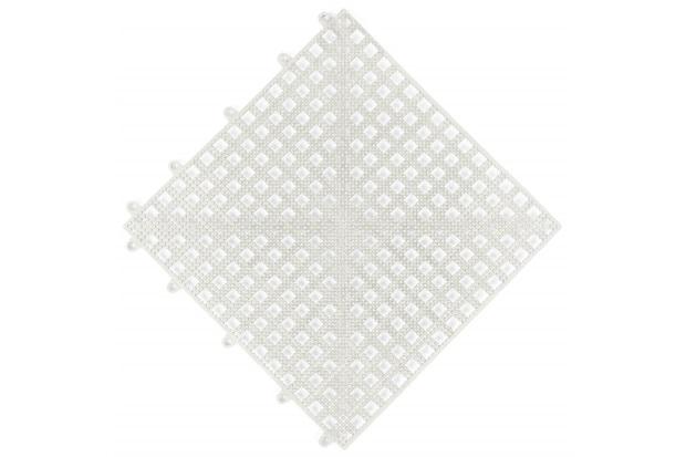 Piso Flexível Modular em Pvc Flex 30x30cm Branco - Impallets